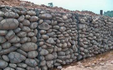 石笼网在河道治理中起什么作用