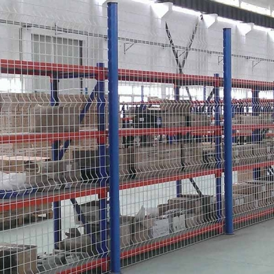 重庆玛格定制家具工厂隔离网实景