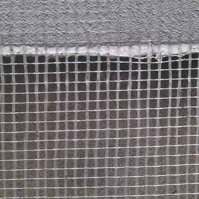 重庆雄安保温项目外墙保温网格布施工现场
