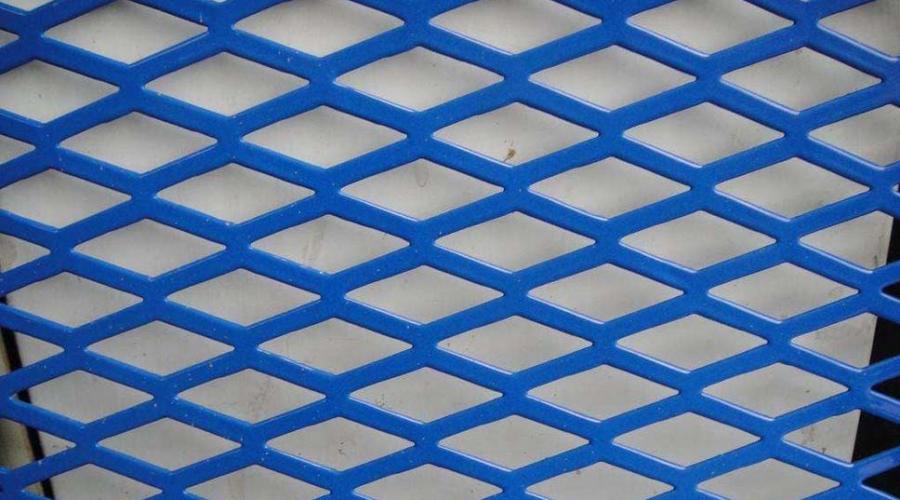 重庆菱形装饰冲孔网定做